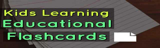 Kids Learning Educational Flashcards download