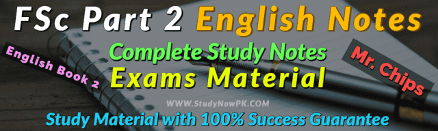 Download FSc Part 2 English Notes Complete FSc Second Year Notes
