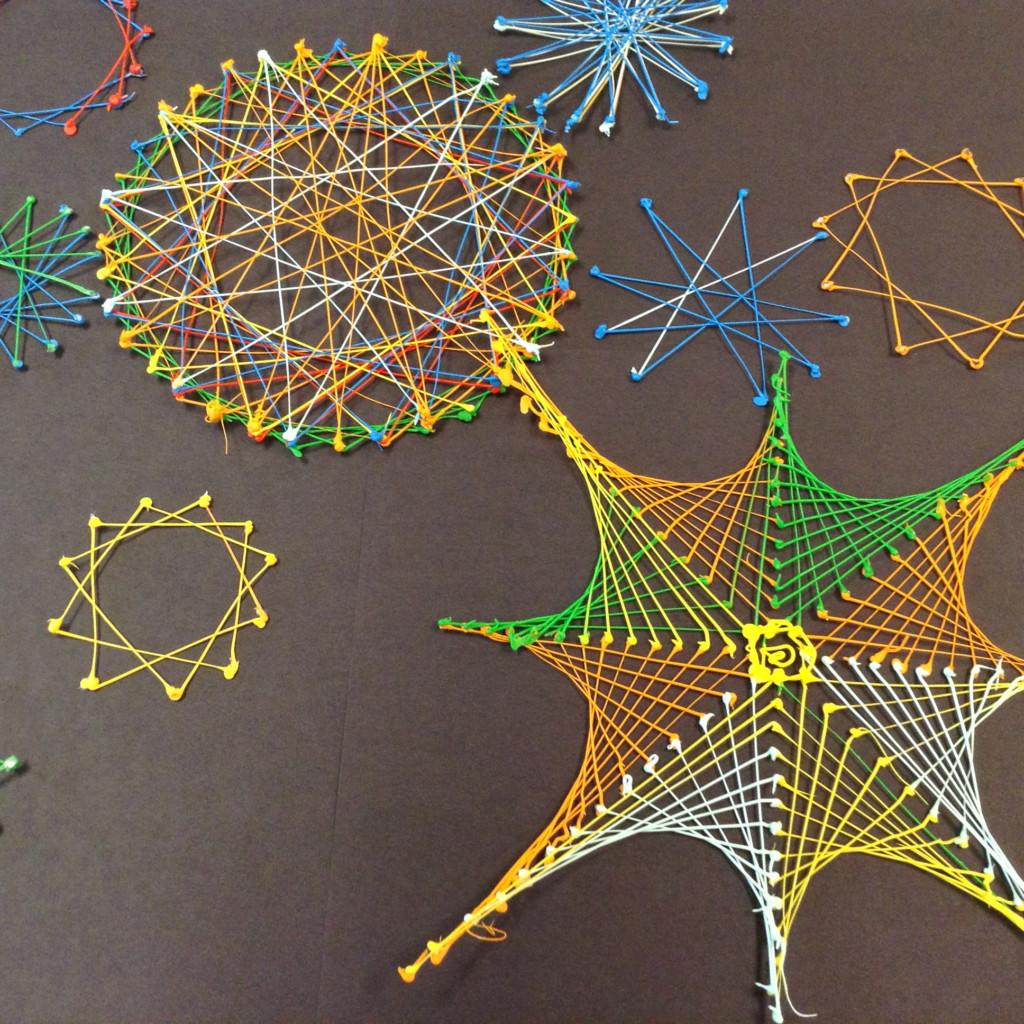 Math Parabolic Art And Geometry