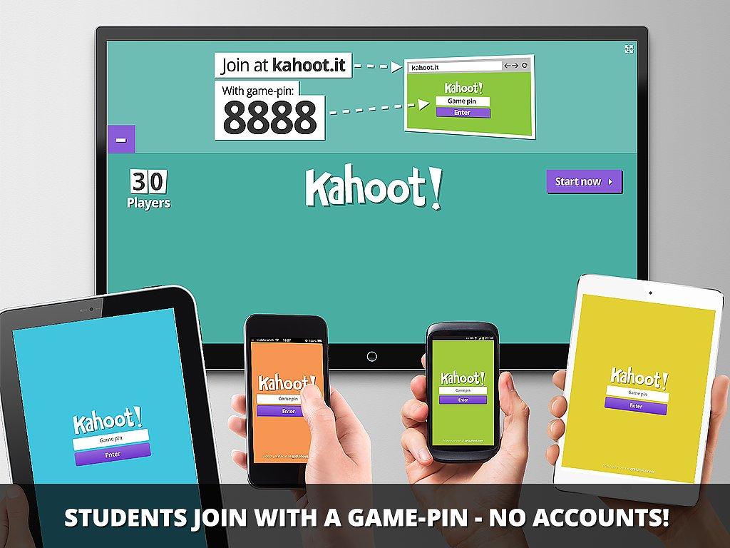 Lav interaktiv quiz med eleverne med Kahoot