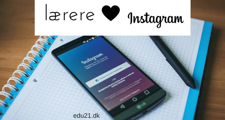 lærere instagram