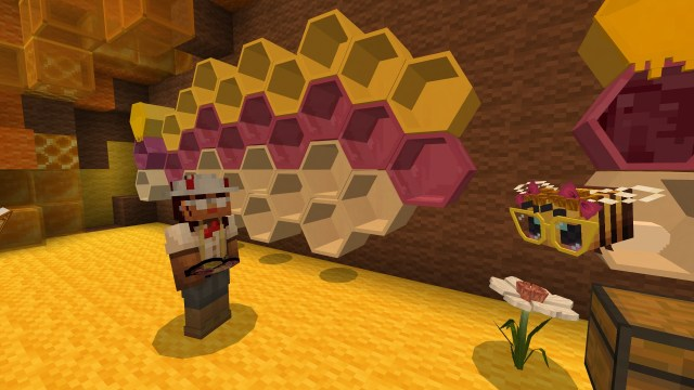 BUILD WITH BEES: BEESWAX  Minecraft Education Edition