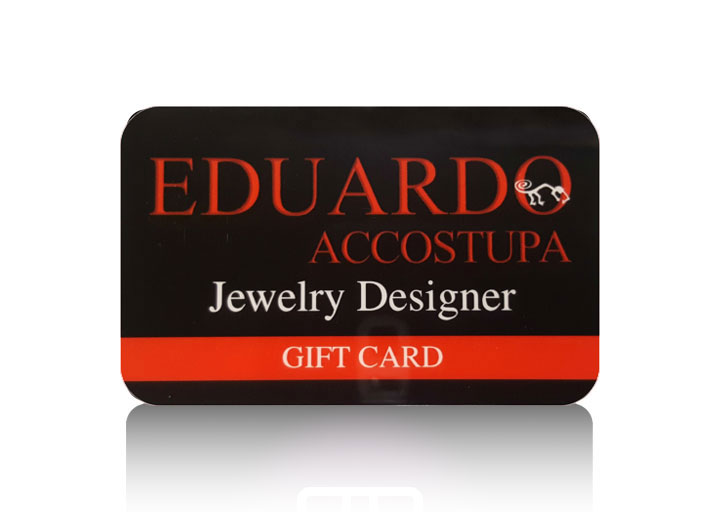 Eduardo Accostupa Jewelry Designer Gift Cards Available