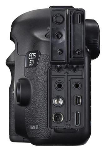 HDMI port on Canon EOS 5D Mark III