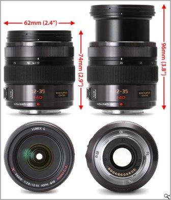 12-35mm lens