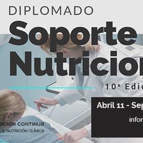 Diplomado en Soporte Nutricional – 10a. Edicion