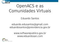 OpenACS-EncontroSPB-2011
