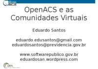 OpenACS-Latinoware2010
