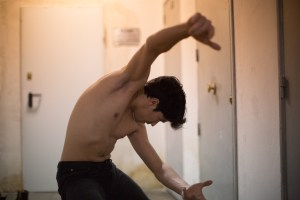 Resitution Contemporary Dancer Eduardo Vallejo Pinto