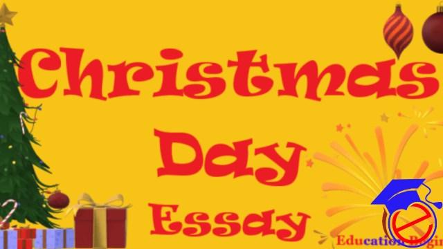 Christmas Day Essay