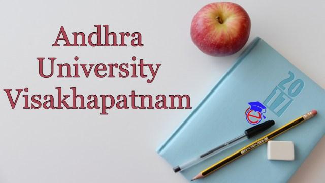 Andhra University Visakhapatnam