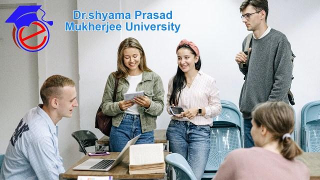 Dr. Shyama Prasad Mukherjee University (DSPMU)