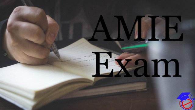AMIE Application Form