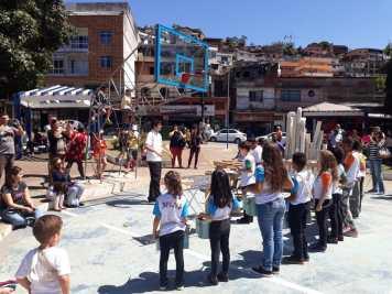 Praça dos Expedicionários - Banda Reciclarte da EM Belkis Frony Morgado