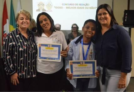Premiação do 3º Colocado Joshua Souza Quintanilha