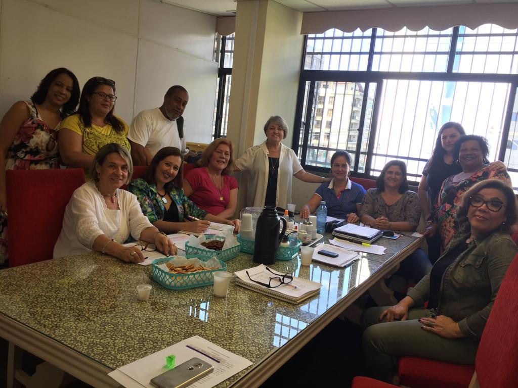 Reunião com os diretores das Escolas Estaduais