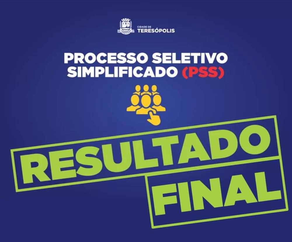 RESULTADO FINAL - PSS 2019 » Educação Teresópolis 977c3b0e292b7