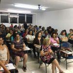 Curso de Extensão em Brinquedoteca contou com a presença de mais de 100 profissionais da Rede Pública Municipal de Ensino