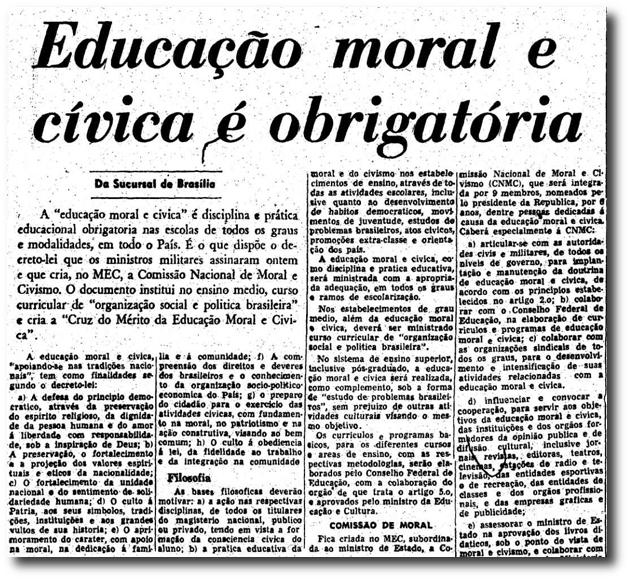 Resultado de imagem para imagem de educação moral e civica