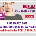 Paros parciales 8 de marzo: Movilízate en favor de la igualdad.