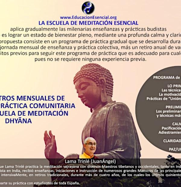 Escuela de Meditación en Valencia