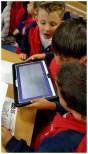 Una vez hecho el laberinto, se fotografía con la tablet y a jugar... (VI)