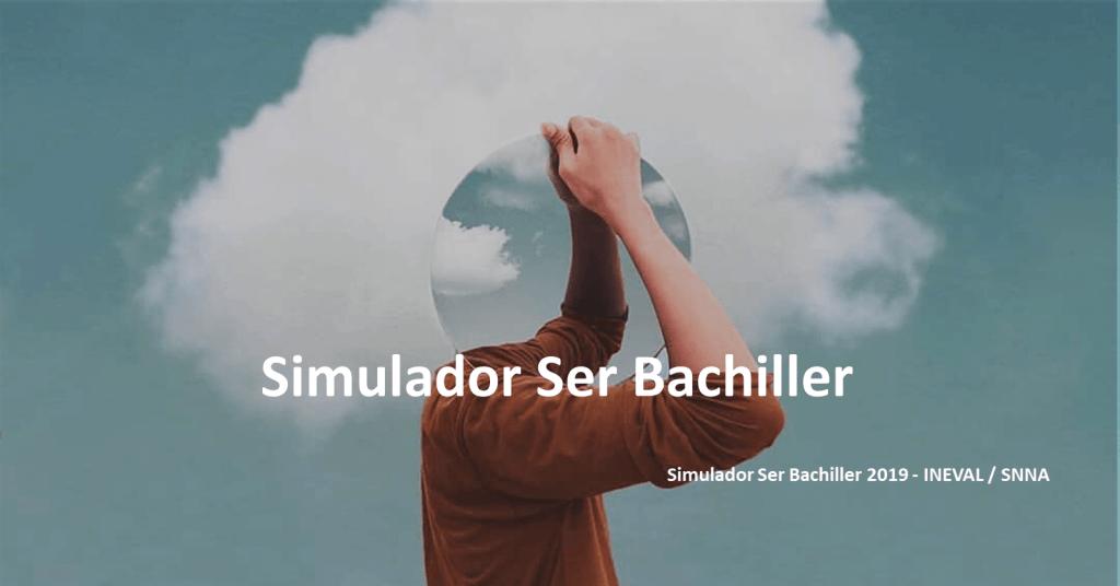Simulador Ser Bachiller