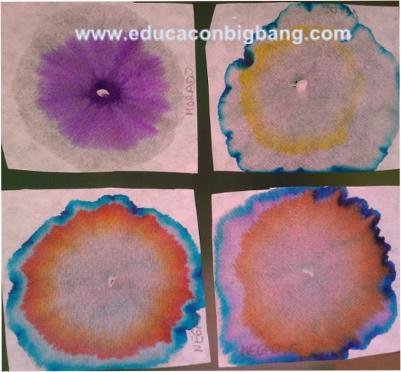 Resultado de la cromatografía