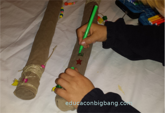 Fabrica Un Palo De Lluvia Con Tubos De Carton Experimentos Para