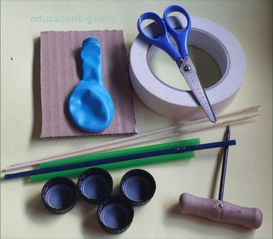materiales y herramientas necesarios