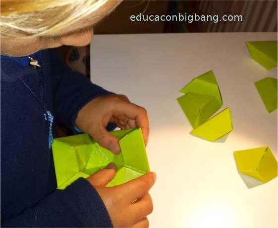 Construyendo el icosaedro