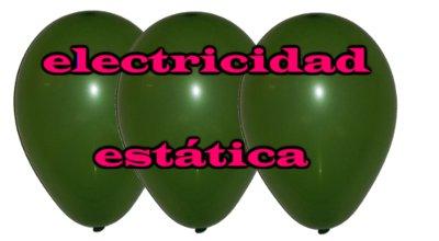 5 Experimentos de electricidad estática con globos