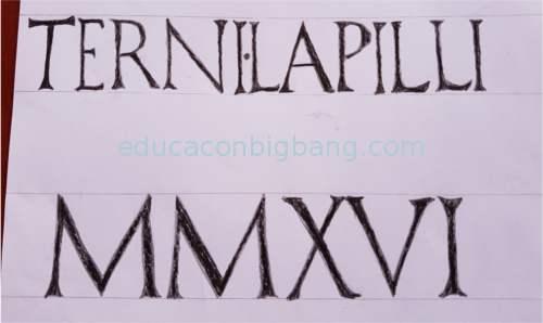 Escritura romana