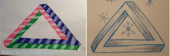 triangulos imposibles terminados