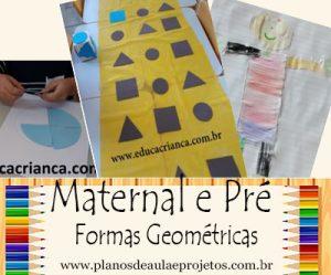 Formas Geométricas para Educação Infantil