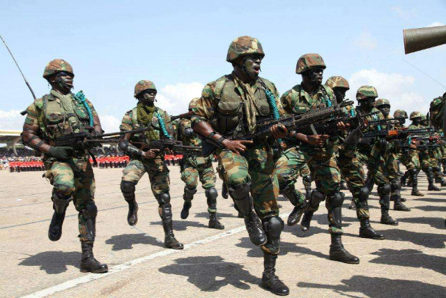 Recruitment Ghana Armed forces