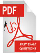 DOWNLOAD ENTRANCE EXAMS PAST QUESTIONS