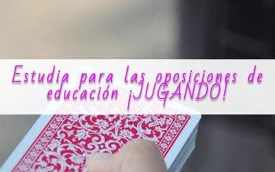 Estudia para las oposiciones ¡JUGANDO!