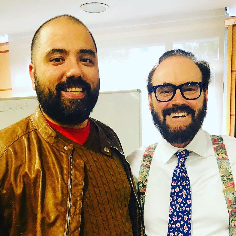 Gabriel Ruiz con Dr. David Cook | Educando tu mirada