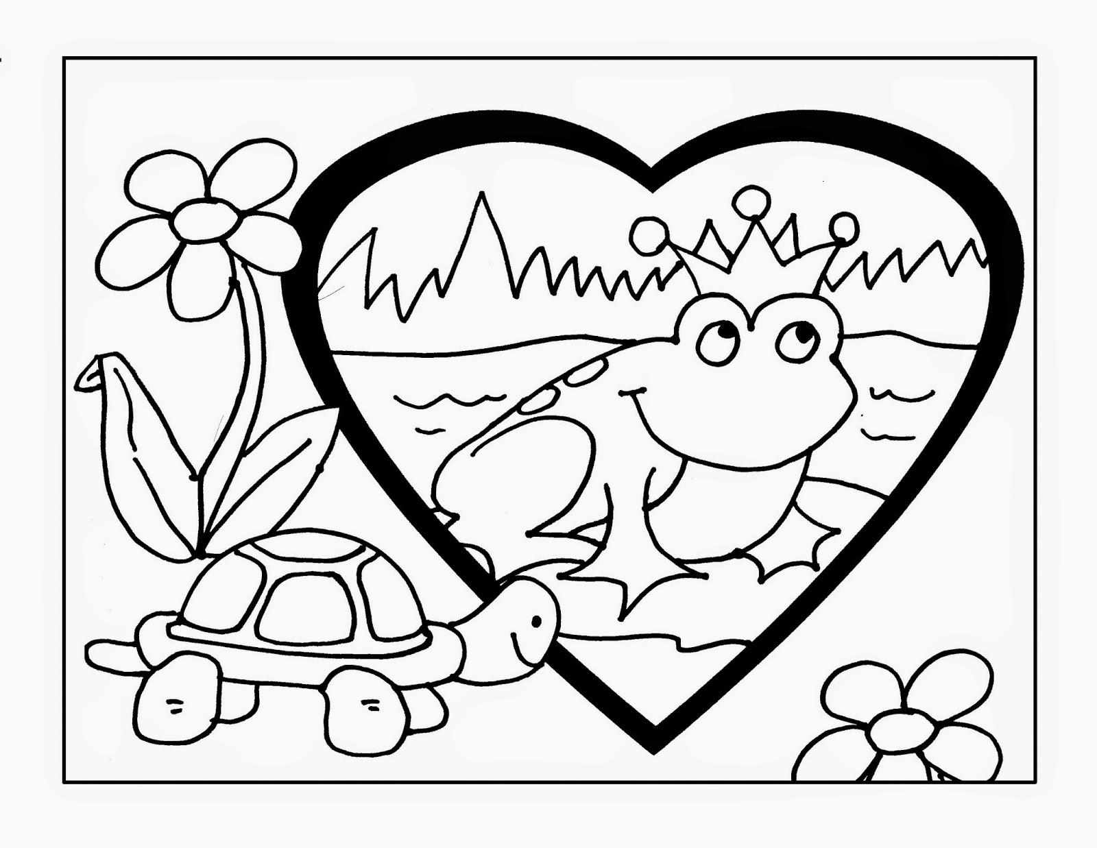 Princesas Para Colorear Pintar E Imprimir: Dibujo-colorear-68-frog-prince