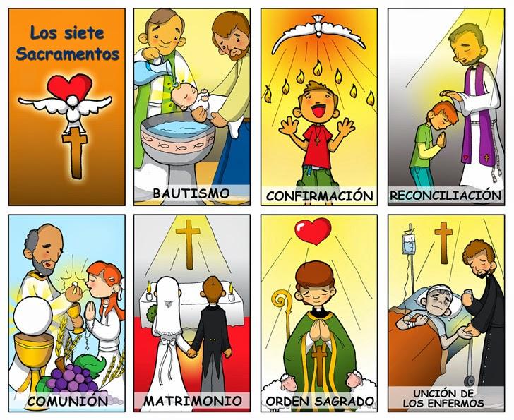 Matrimonio Catolico Definicion : Los sacramentos imágenes y dibujos para imprimir