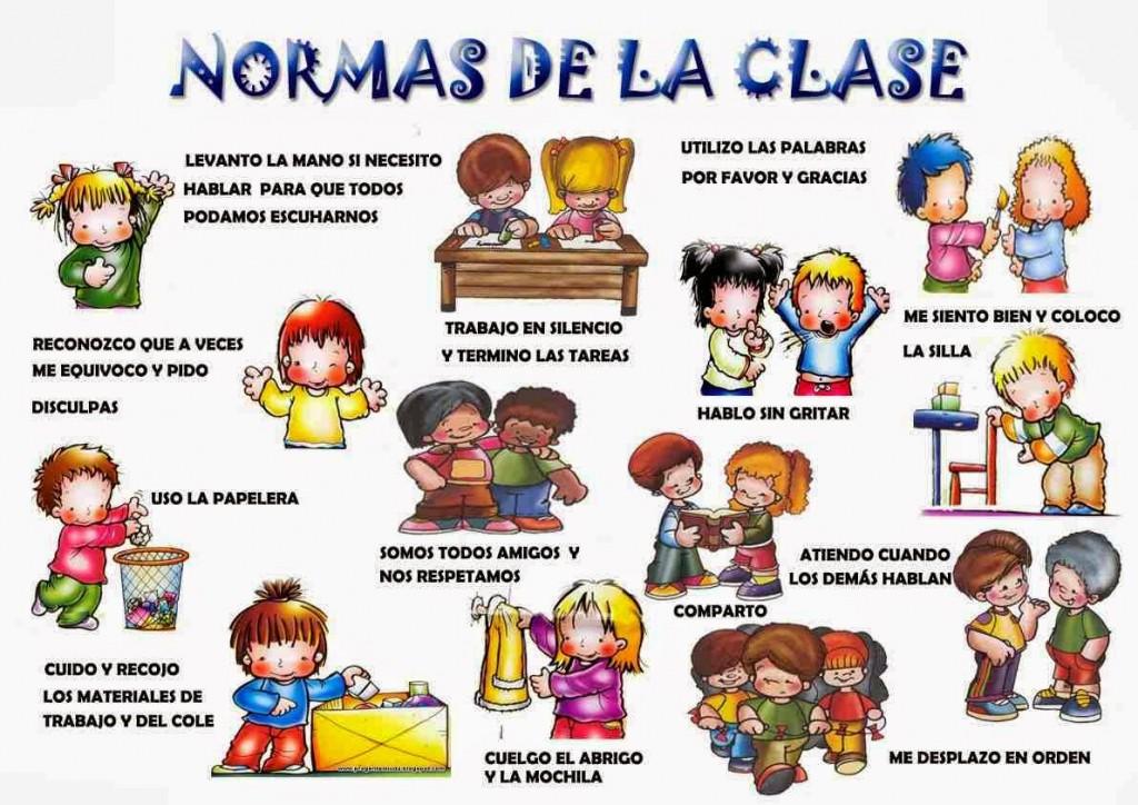 Normas de convivencia en el aula + imágenes para imprimir ...