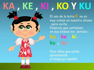palabras con ka ke ki ko ku