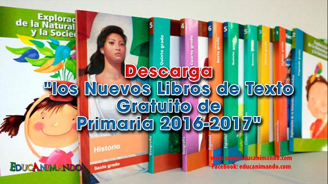 Descarga los Libros de Texto Gratuito de Primaria | Material para ...