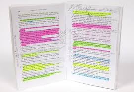how to read and highlight text