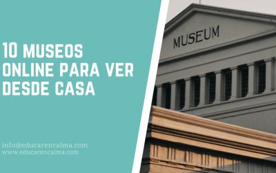 10 museos online para ver desde casa