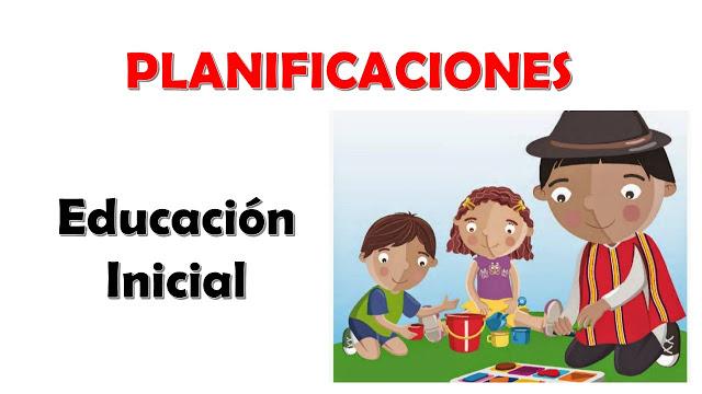 Planes para educaci n inicial educar plus for Planificacion de educacion inicial