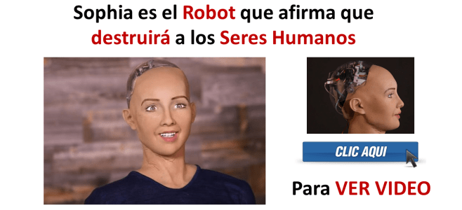 Sophia es el Robot que afirma que destruirá a los Seres Humanos (Ver Video)