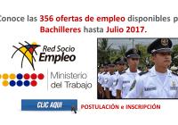 Conoce las 356 ofertas de empleo disponibles para Bachilleres (Quito, Ecuador)