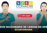 Nuevo Diccionario de Lengua de Señas Ecuatoriana